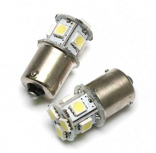 Żarówka samochodowa LED BA15S 8 SMD 5050