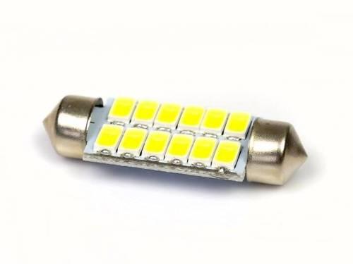 Żarówka samochodowa LED C5W 12 SMD 5630