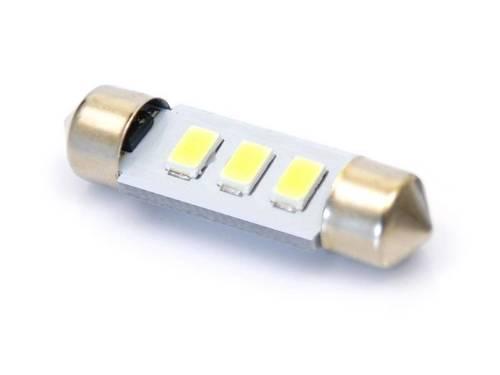 Żarówka samochodowa LED C5W 3 SMD 5630