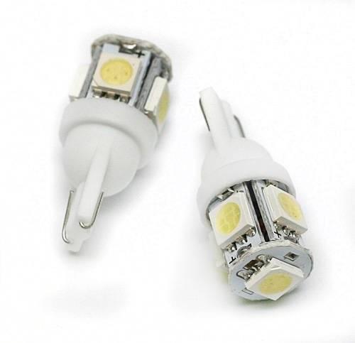 Żarówka samochodowa LED W5W T10 5 SMD 5050