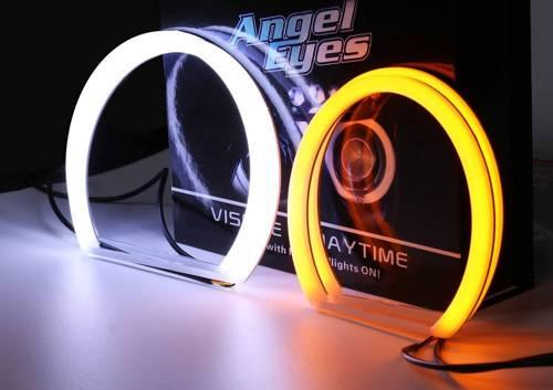 Zestaw Ringów COTTON LED COB DUAL COLOR   A + A - 131 mm + 131 mm