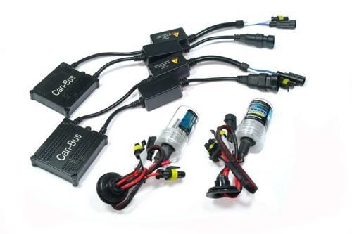 Zestaw oświetleniowy XENON HID HB4 9006 CAN BUS DUO