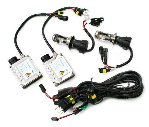 Zestaw oświetleniowy bixenon H4 H/L 55W CAN BUS